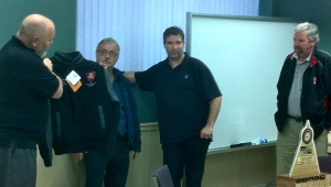 Herbert received the official Fleet Safety Jacket for Driver of the Year