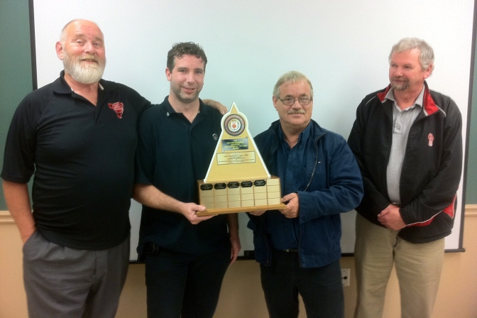 Driver of the Year Herbert Peters with Council Members