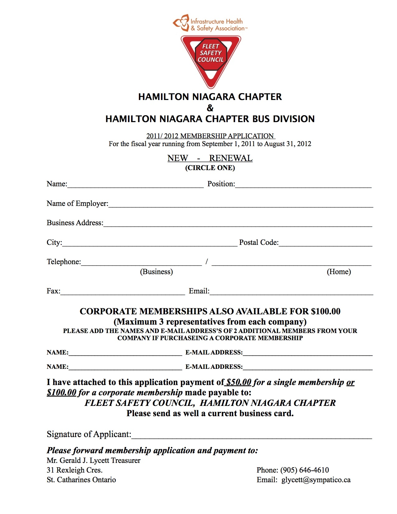 Member Registration Form