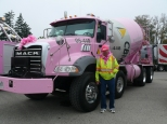 Al with the Pink CBM Truck