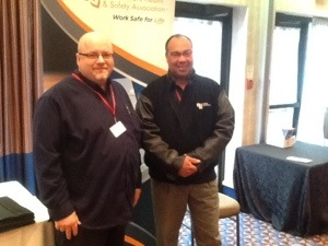 Bruce outridge and Jim Campbell