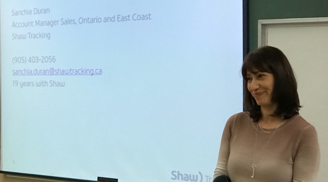 Shaw Tracking Present EOBR / ELD  Update at Hamilton Chapter Meeting