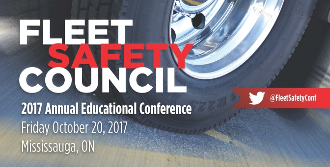 26th Annual Fleet Safety Council Conference-October 20, 2017