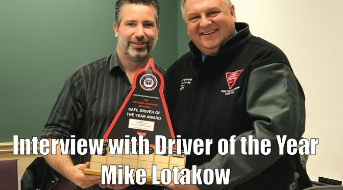 A look into the life of Driver of the Year Mike Lotakow