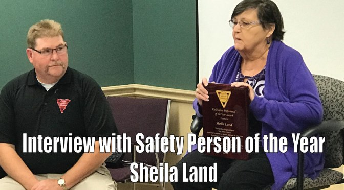 A look into the life of Safety Person of the Year Sheila Land