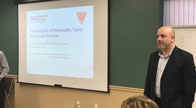 Charlie Charalambous of ISB/MEE Presents on Driver Surveys