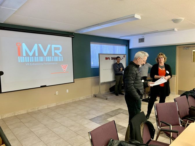 iMVR Presents Virtual Reality to Hamilton Chapter