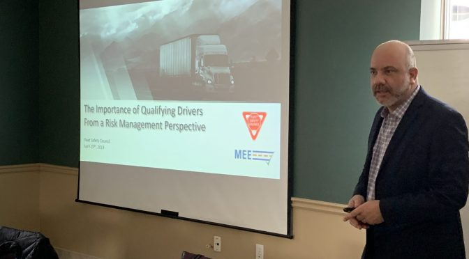 Charlie Charalambous Talks Driver Verification Strategies at Hamilton Fleet Safety Council Meeting