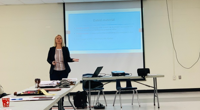 Jodi Burness Talks Legal Mistakes at November 2019 HFSC Meeting