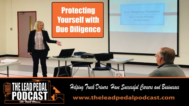 due diligence podcast episode